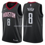 Maillot Houston Rockets Le'bryan Nash Statehombret 2017-18 8 Negro