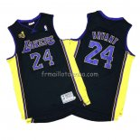 Maillot Los Angeles Lakers Kobe Bryant 2009-10 Finals Noir