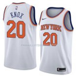 Maillot New York Knicks Kevin Knox Association 2018 Blanc Blanc