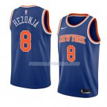 Maillot New York Knicks Mario Hezonja Icon 2018 Bleu
