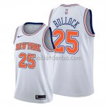 Maillot New York Knicks Reggie Bullock Statement Blanc