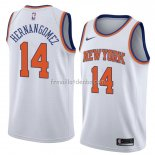 Maillot New York Knicks Willy Hernangomez Statement 2018 Blanc