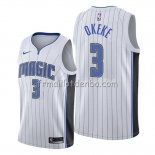 Maillot Orlando Magic Chuma Okeke Association 2019-20 Blanc