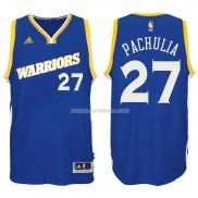 Maillot Basket Golden State Warriors Pachulia 27 Azul