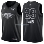 Maillot All Star 2018 New Orleans Pelicans Anthony Davis 23 Noir