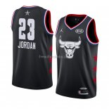 Maillot All Star 2019 Chicago Bulls Michael Jordan Noir