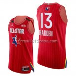 Maillot All Star 2020 Western Conference James Harden Rouge
