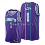 Maillot Charlotte Hornets Malik Monk Classic 2019-20 Volet