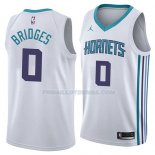 Maillot Charlotte Hornets Miles Bridges Association 2018 Blanc