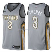 Maillot Cleveland Cavaliers Isaiah Thomas Ville 3 Gris