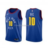 Maillot Denver Nuggets Bol Bol Statement Bleu