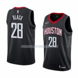 Maillot Houston Rockets Tarik Black Statement 2018 Noir