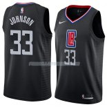 Maillot Los Angeles Clippers Wesley Johnson Statement 2018 Noir