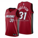 Maillot Miami Heat Ryan Anderson Statement Rouge