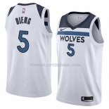 Maillot Minnesota Timberwolves Gorgui Dieng Association 2018 Blanc