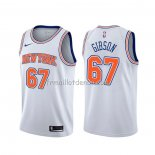 Maillot New York Knicks Taj Gibson Statement Blanc