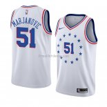 Maillot Philadelphia 76ers Boban Marjanovic Earned 2018-19 Blanc