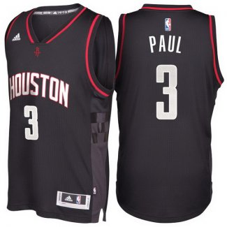 Maillot Basket Houston Rockets Paul 3 Noir
