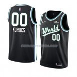 Maillot 2019 Rising Star Rodions Kurucs World Noir