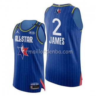 Maillot All Star 2020 Western Conference Lebron James Bleu