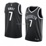 Maillot Brooklyn Nets Nuni Omot Icon 2018 Noir