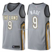 Maillot Cleveland Cavaliers Dwyane Wade Ville 9 Gris