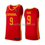 Maillot Espagne Ricky Rubio 2019 FIBA Baketball World Cup Rouge