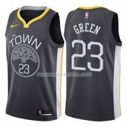 Maillot Basket Golden State Warriors Draymond Green Statement 2017-18 23 Gris