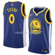 Maillot Golden State Warriors Nick Young Icon 2018 Bleu
