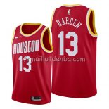 Maillot Houston Rockets James Harden Hardwood Classics 2019 Rouge