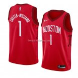 Maillot Houston Rockets Michael Carter Williams Earned 2018-19 Rouge