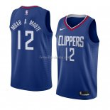 Maillot Los Angeles Clippers Luc Mbah a Moute Icon 2018 Bleu