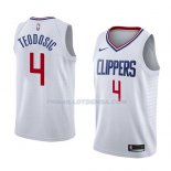 Maillot Los Angeles Clippers Milos Teodosic Association 2018 Blanc