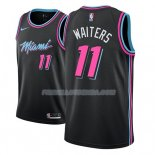 Maillot Miami Heat Dion Waiters Ciudad 2018-19 Noir