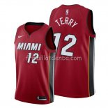 Maillot Miami Heat Emanuel Terry Statement Rouge