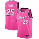 Maillot Miami Heat Kendrick Nunn Earned 2018-19 Rosa