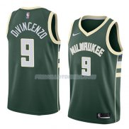 Maillot Milwaukee Bucks Donte Divincenzo Icon 2018 Vert