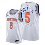 Maillot New York Knicks Dennis Smith Jr. Statement Blanc