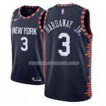 Maillot New York Knicks Tim Hardaway Jr. Ciudad 2018-19 Bleu Bleu