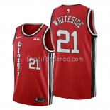 Maillot Portland Trail Blazers Hassan Whiteside Classic Edition Rouge