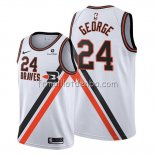 Maillot Portland Trail Blazers Paul George Ville 2019-20 Blanc