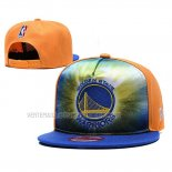 Casquette Golden State Warriors 9FIFTY Snapback Bleu Orange
