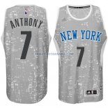 Maillot Basket New York Knicks 2017 Anthony 7 Gris
