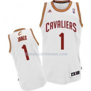 Maillot Basket Cleveland Cavaliers Jones 1 Blanco