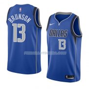 Maillot Dallas Mavericks Jalen Brunson Icon 2018 Bleu