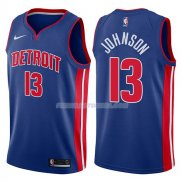 Maillot Detroit Pistons Brice Johnson Icon 2017-18 13 Azul