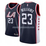 Maillot Los Angeles Clippers Lou Williams Ciudad 2018-19 Bleu