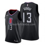 Maillot Los Angeles Clippers Paul George Statement 2019 Noir
