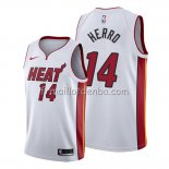 Maillot Miami Heat Tyler Herro Association 2019-20 Blanc