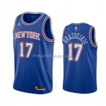 Maillot New York Knicks Ignas Brazdeikis Statement 2020-21 Bleu